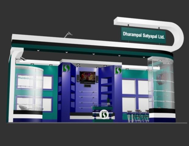 3D Stall Designs